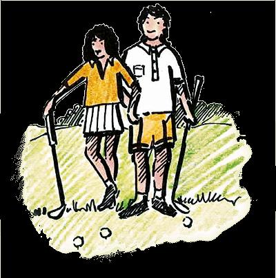 Golferpaar